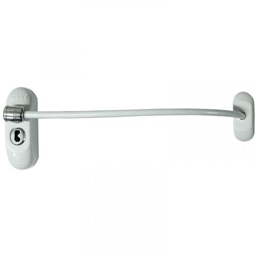 Max6mum Security Window Restrictor - White - Bulk