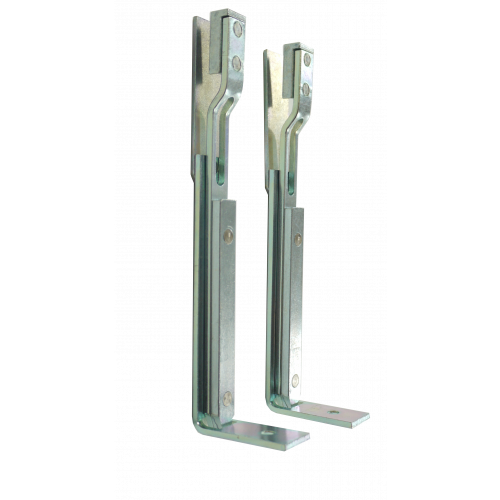 2 x Mild Steel Shoot Bolts for XL Locks - 150mm