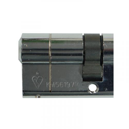 HALF Zero Lift SXD Anti Bump, Pull + Sacrificial Cut Polished Chrome THUMBTURN 35-10-5 - 50mm