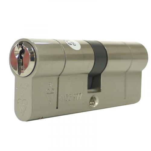 110mm 45-10-55 (50/60) Nickel UAP+ 1* Kitemarked Euro Cylinder
